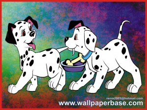 Even two cute dalmatians can be dangerous