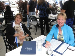 Clare, Frankie & Me at Sally's