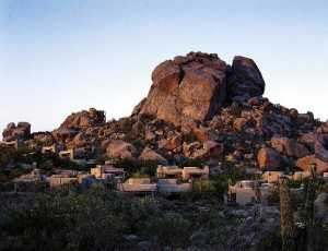 The stunning Boulders Resort in Carefree, which Frankie and I visited last year